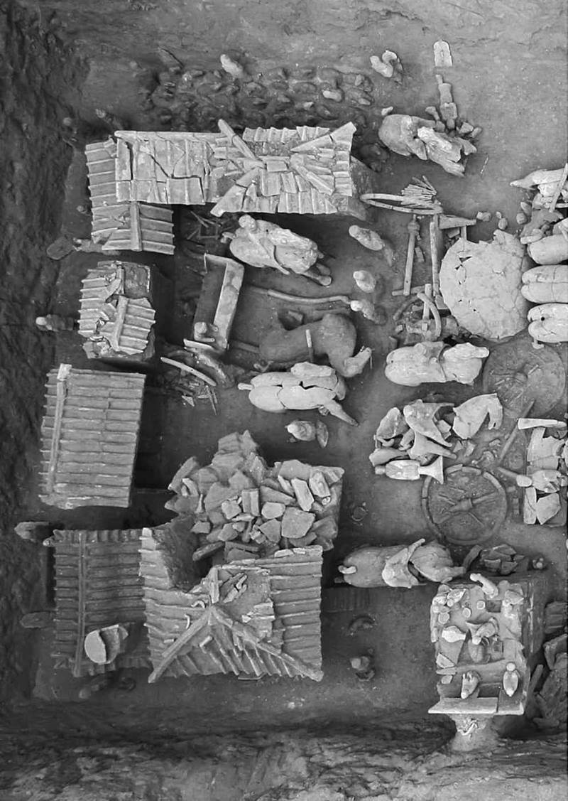 В Китае нашли мини-«Терракотовую армию» Терракотовая армия, археологи, китай, находка, раскопки