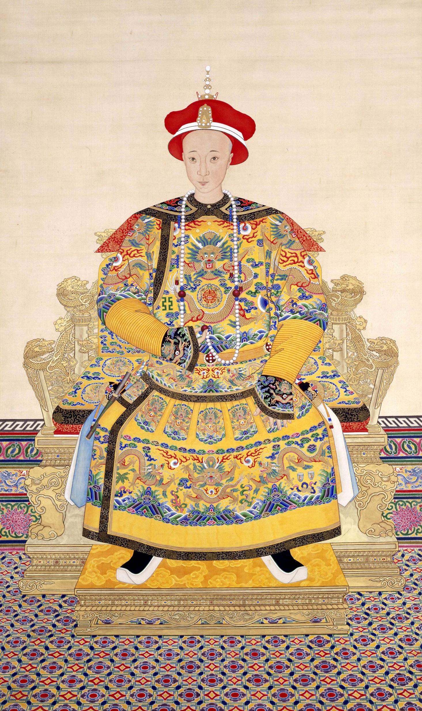 Император Тунчжи. <br>