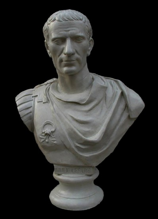 Бюст Юлия Цезаря.